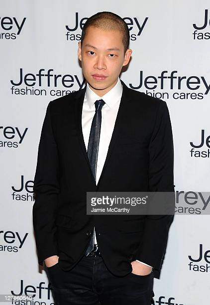 Designer Jason Wu attends the 8th annual Jeffrey Fashion Cares on the Intrepid Aircraft Carrier on March 28, 2011 in New York City.