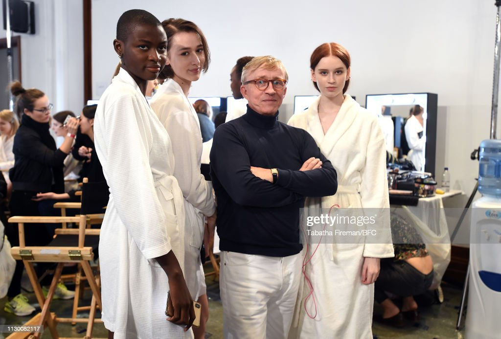 GBR: Jasper Conran - Backstage - LFW February 2019