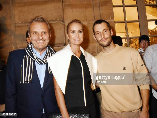 Designer Jean Charles de Castelbajac Laetitia Hallyday and Simon Porte Jacquemus attend 'La Bomba' Jacquemus After Show Party Paris Fashion Week...