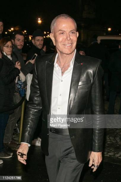 Designer JeanClaude Jitrois is seen on January 23 2019 in Paris France