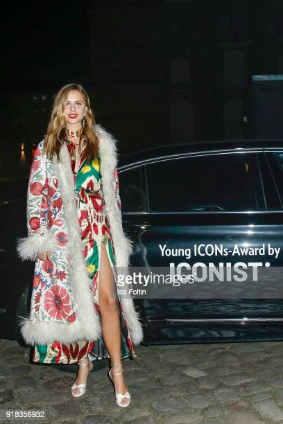 Designer Jeanne de Kroon attends the Young ICONs Award in cooperation with ICONIST at BRLO Brwhouse on February 14 2018 in Berlin Germany