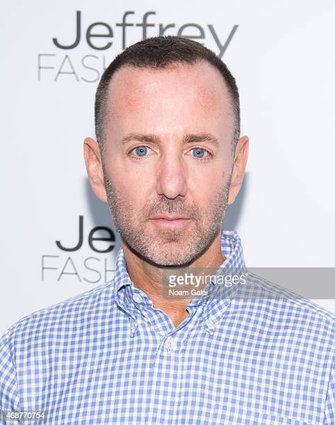 Designer Jeffrey Kalinsky attends the Jeffrey Fashion Cares 2015 at ArtBeam on April 6 2015 in New York City