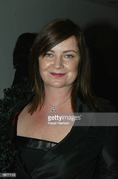 Designer Jennifer Nicholson shows her new range of clothes as part of the 2003 Smashbox Fashion Week held at the Smashbox Studios on October 28 2003...