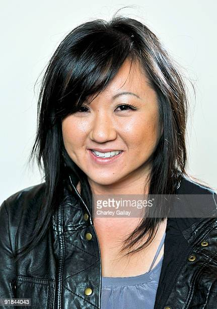 Designer Jenny Han poses for a portrait at Fashion Group International of Los Angeles' Meet The Designers at the Standard Hotel on October 12 2009 in...