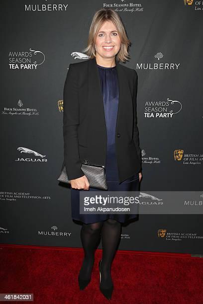 Designer Jenny Packham attends the BAFTA LA 2014 Awards Season Tea Party at the Four Seasons Hotel Los Angeles at Beverly Hills on January 11, 2014...