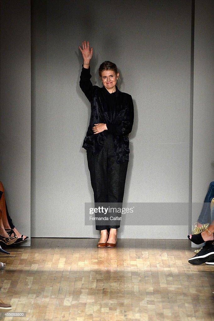 Jenny Packham - Runway - Mercedes-Benz Fashion Week Spring 2015 : ニュース写真
