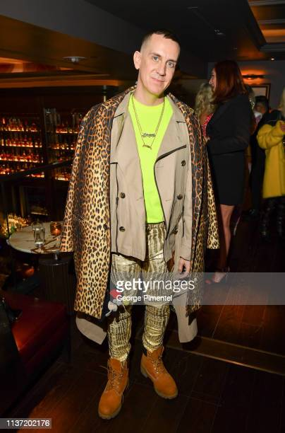 Designer Jeremy Scott attends Hudson's Bay Celebration of the London Fog X Jeremy Scott Collaboration held at Hudson's Bay Queen Street on March 20...