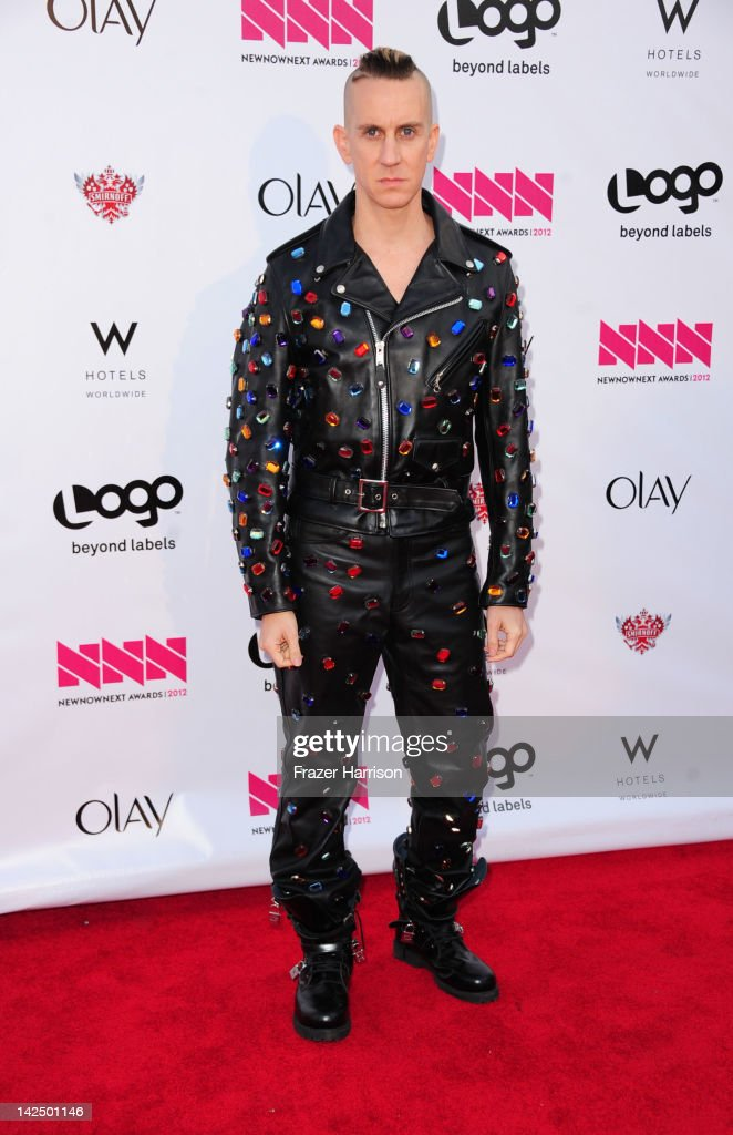 Designer Jeremy Scott attends Logo's 'NewNowNext Awards' 2012 at Avalon on April 5, 2012 in Hollywood, California.