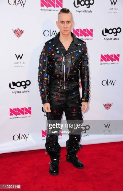Designer Jeremy Scott attends Logo's NewNowNext Awards 2012 at Avalon on April 5 2012 in Hollywood California