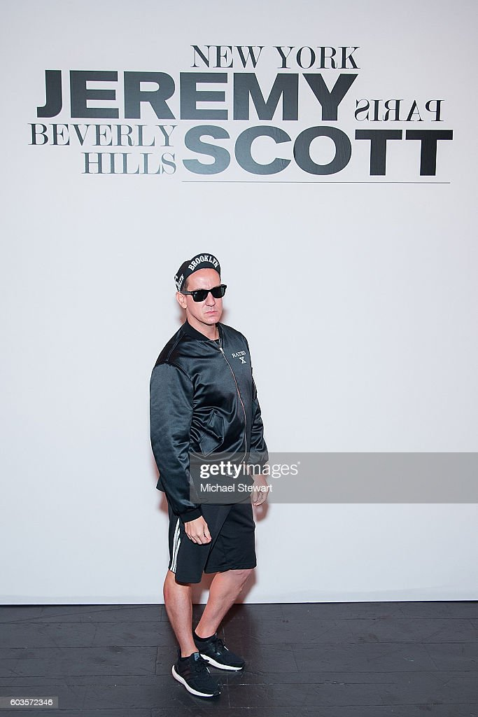 Jeremy Scott - Front Row & Backstage - September 2016 New York Fashion Week: The Shows