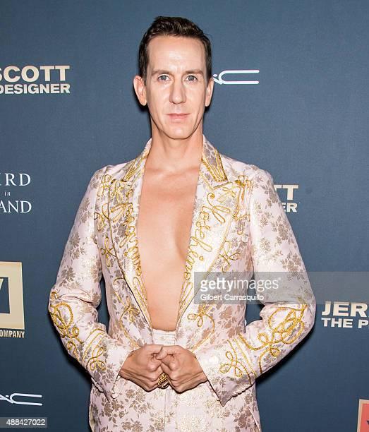 Designer Jeremy Scott attends the 'Jeremy Scott The People's Designer' New York Premiere at The Paris Theatre on September 15 2015 in New York City