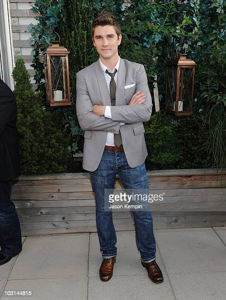 Designer Jesse LeNoir attends the 'Project Runway' Season 8 premiere at the Empire Hotel on July 28 2010 in New York City