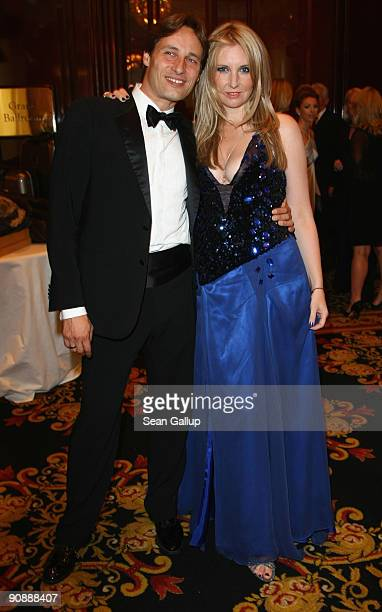 Designer Jette Joop and her husband Christian Elsen attend the dreamball 2009 charity gala at the Ritz-Carlton on September 17, 2009 in Berlin,...