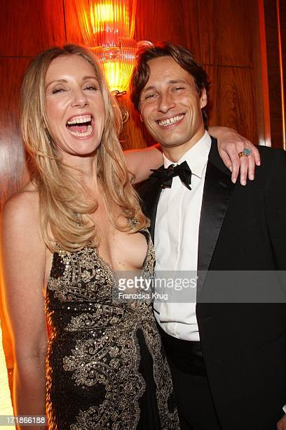 Designer Jette Joop and husband Christian Elsen at the 7th Russian German economy politics and culture ball at The Russian Embassy at Russian Palais...