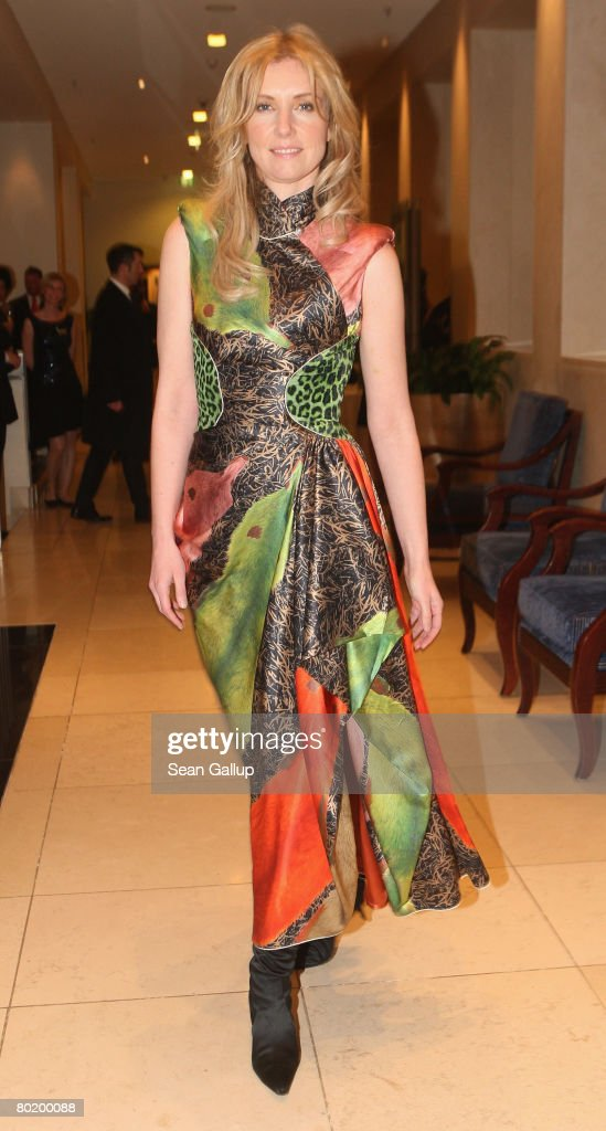 Designer Jette Joop attends the B'nai B'rith Europe Award of Merit at the Marriot hotel on March 11, 2008 in Berlin, Germany.