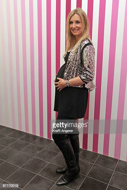 Designer Jette Joop attends the Montblanc vernissage at the Kunsthalle on May 13 2009 in Hamburg Germany