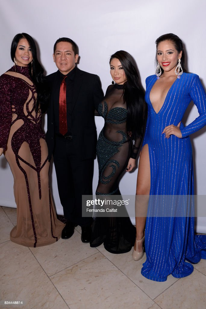 Designer Jhony Calderon attends at Premios Gruperos 2017 at Queens Theatre on August 17, 2017 in the Queens borough of New York City.