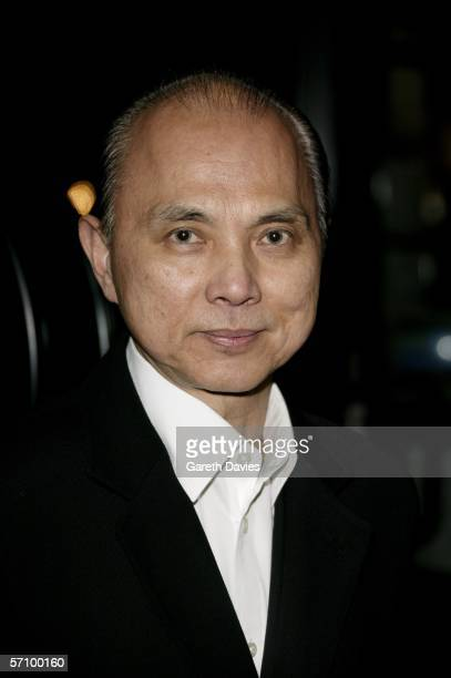 """Designer Jimmy Choo arrives at the World Premiere of """"Basic Instinct II: Risk Addiction"""" at Vue Leicester Square on March 15, 2006 in London,..."""