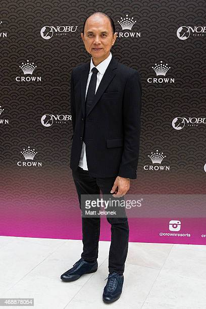 Designer, Jimmy Choo attends the 'Dine With Professor Jimmy Choo' lunch at Nobu Perth at the Crown on April 8, 2015 in Perth, Australia.