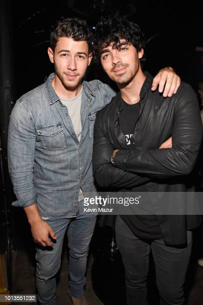 Designer John Varvatos and Musician/Actor Nick Jonas cohost launch party for their new fragrance collaboration JV x NJ