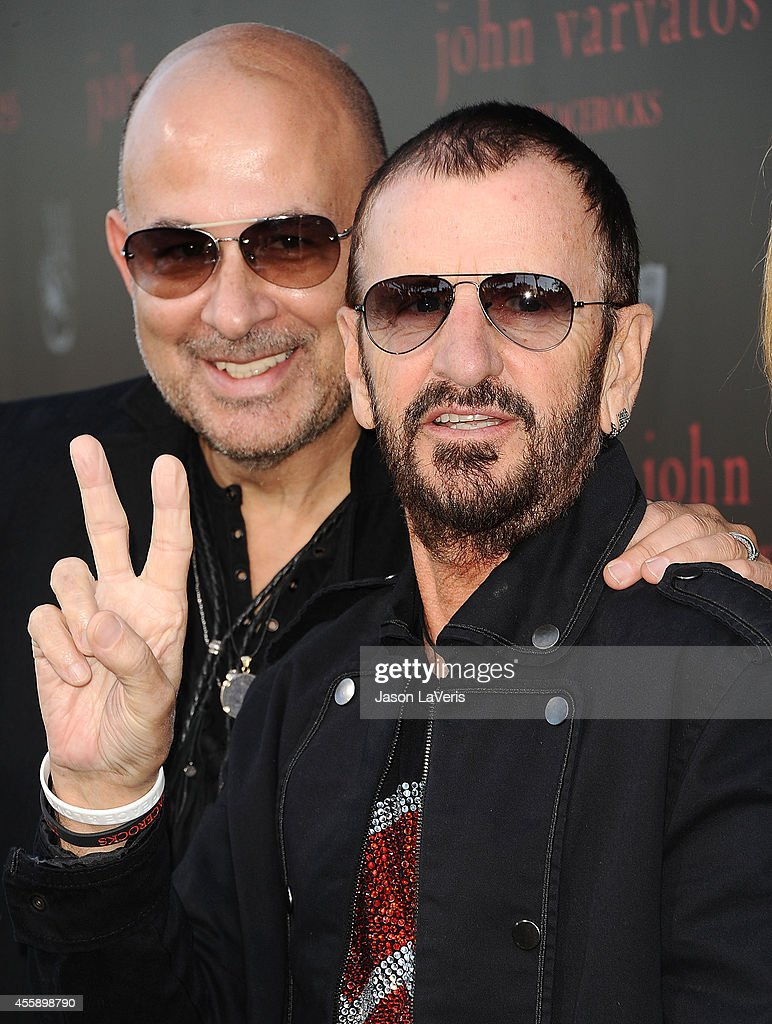 John Varvatos And Ringo Starr Celebrate International Peace Day
