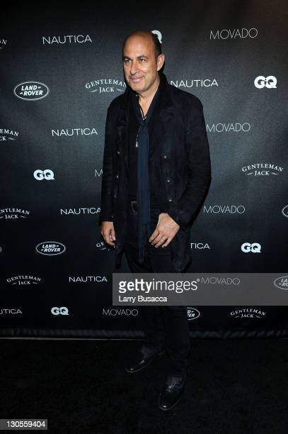 Designer John Varvatos attends GQ's Gentlemen's Ball Presented By Gentleman Jack Land Rover Movado and Nautica at The Edison Ballroom on October 26...