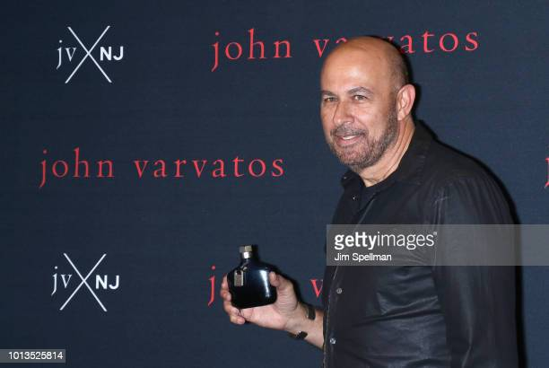 Designer John Varvatos attends his launch for his new fragrance JVxNJ at Mission NYC on August 8 2018 in New York City