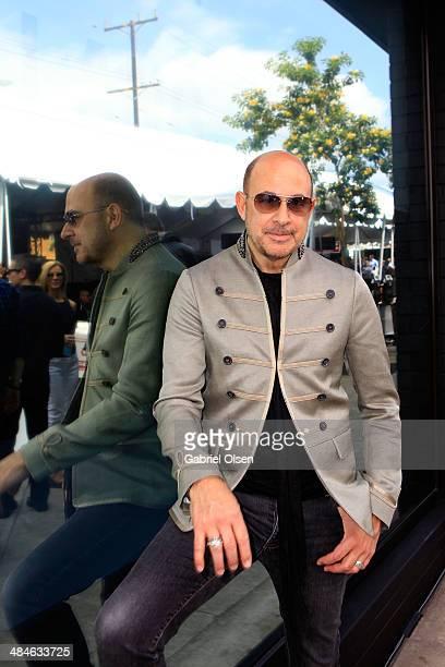 Designer John Varvatos attends the John Varvatos 11th Annual Stuart House Benefit at John Varvatos Boutique on April 13 2014 in West Hollywood...