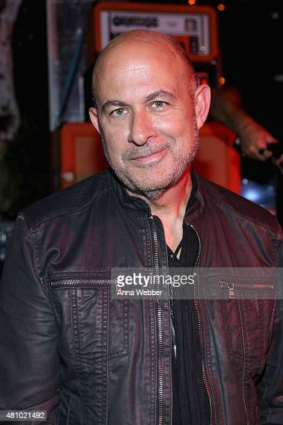 Designer John Varvatos attends the John Varvatos fashion show after party at Electric Room on July 16 2015 in New York City