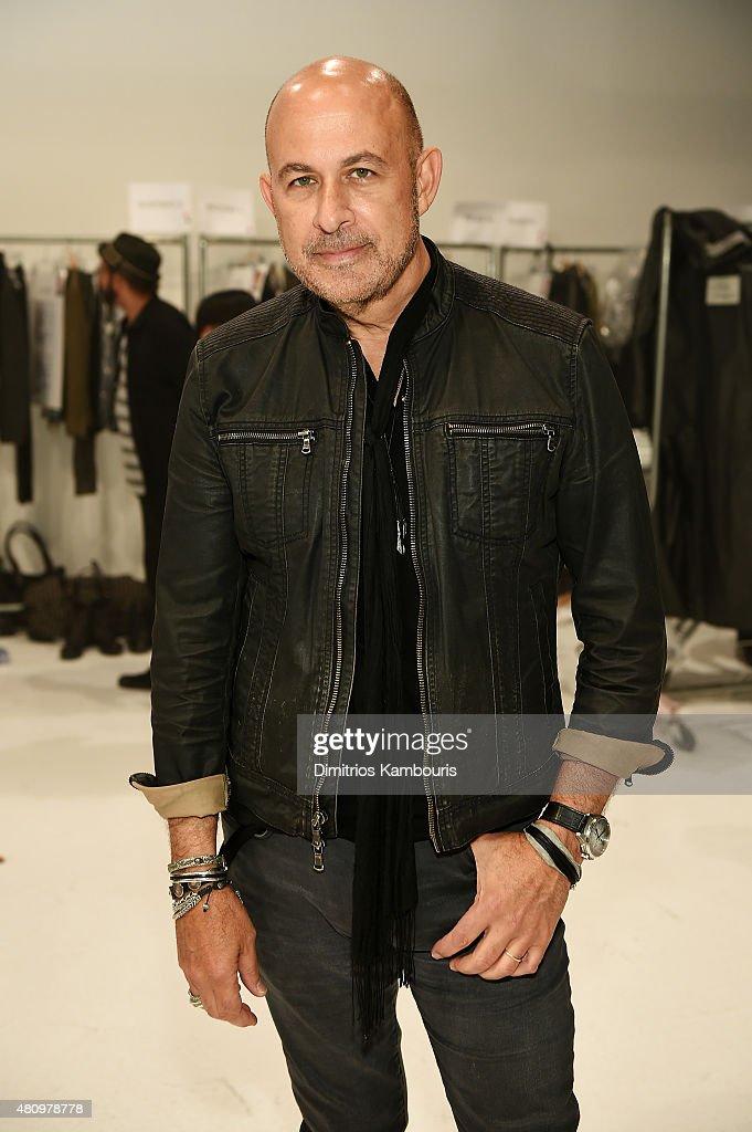 John Varvatos - Backstage - New York Fashion Week: Men's S/S 2016