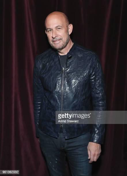 Designer John Varvatos poses for photos during John Varvatos New York trunk show/personal appearance on April 25 2018 in New York City