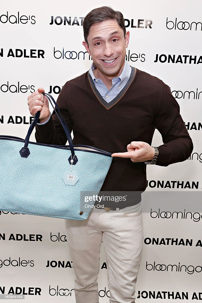 Designer Jonathan Adler attends the Bloomingdale's 59th Street launch of the Jonathan Adler Accessories Collection at Bloomingdale's 59th Street Store on March 1, 2013 in New York City.