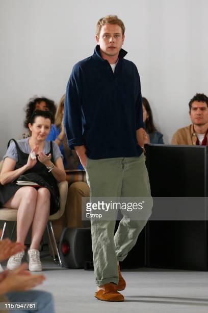 Designer Jonathan Anderson at the Loewe show during Paris Men's Fashion Week Spring/Summer 2020 on June 22 2019 in Paris France