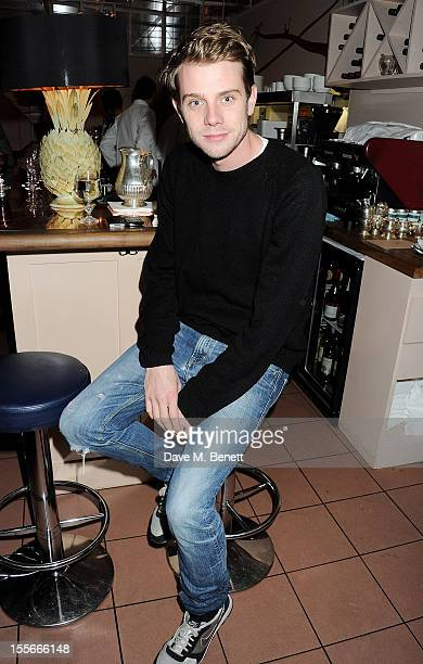 Designer Jonathan Anderson of JW Anderson attend the Stylecom dinner celebrating London fashion hosted by editorinchief Dirk Standen at Shrimpy's in...