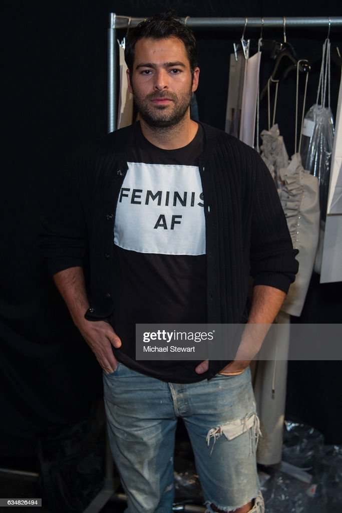 Designer Jonathan Simkhai attend the Jonathan Simkhai fashion show during February 2017 New York Fashion Week: The Shows at Gallery 1, Skylight Clarkson Sq on February 11, 2017 in New York City.