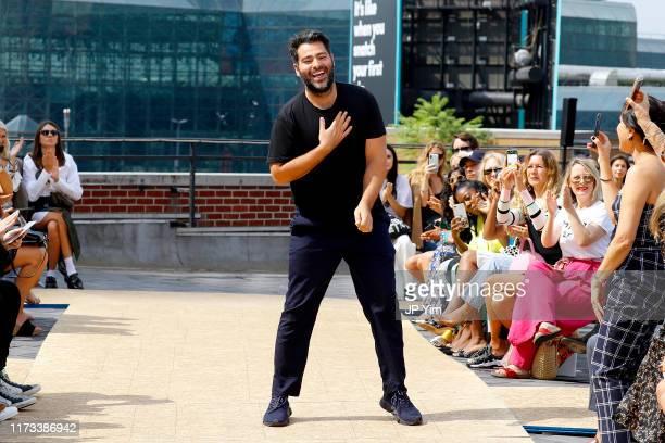 Designer Jonathan Simkhai walks the runway for Jonathan Simkhai during New York Fashion Week: The Shows on September 09, 2019 in New York City.