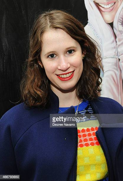 Designer Jordana Warmflash attends Tali Lennox Exhibition Opening Reception at Catherine Ahnell Gallery on March 18, 2015 in New York City.