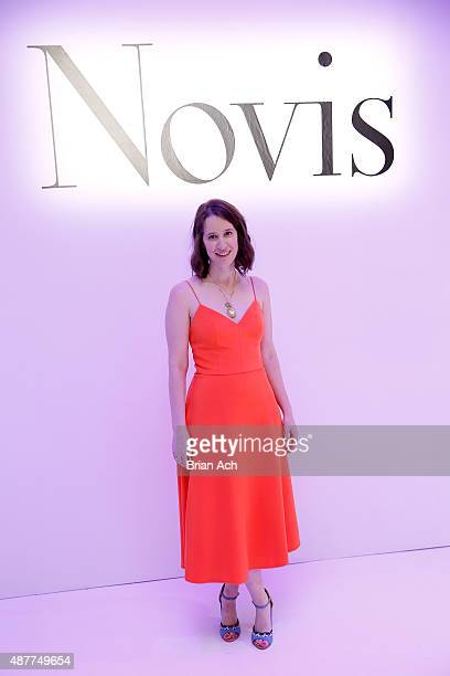 Designer Jordana Warmflash on the runway at the Novis presentation during Spring 2016 New York Fashion Week: The Shows at The Space, Skylight at...