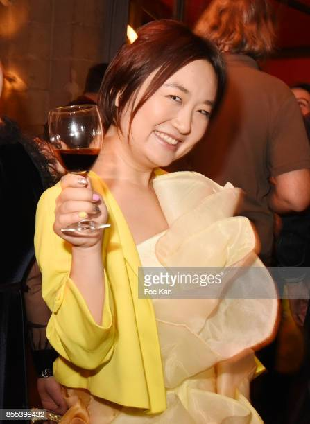 Designer Jordy Fu attends the 'Apero Gouter' Cocktail Hosted by Le Grand Seigneur Magazine at Bistrot Marguerite on September 28 2017 in Paris France