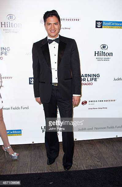 Designer Julian Chang attends Dress for Success Miami Celebrates 20th Anniversary at The Rusty Pelican>> on October 11 2014 in Key Biscayne Florida