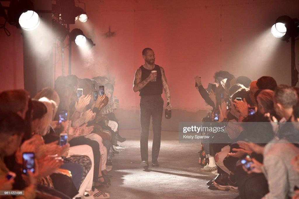 WWW SSS World Corp: Runway - Paris Fashion Week - Menswear Spring/Summer 2019
