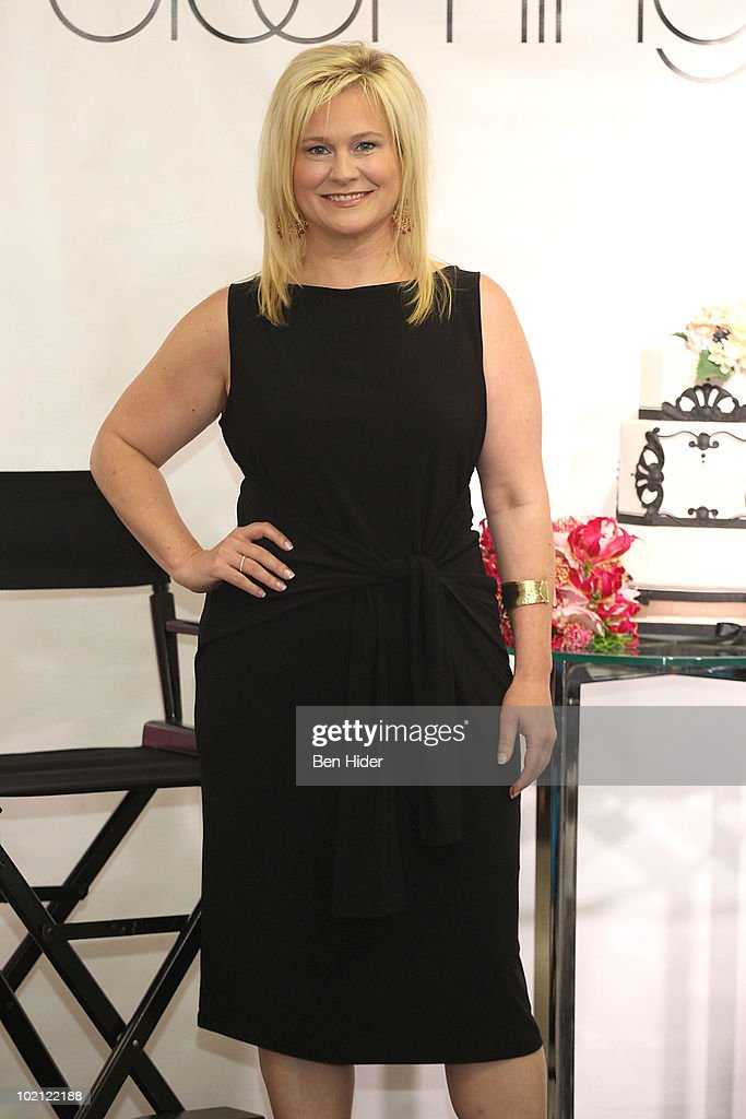 Designer Karen Busson visits Bloomingdale's 59th Street Store on June 15, 2010 in New York City.