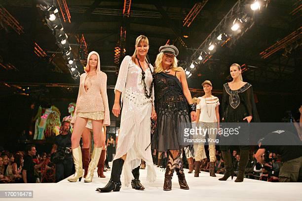 Designer Karin Simonsen And Alexandra Kamp at Mtv Designerama On Stage In The Arena Berlin 140905
