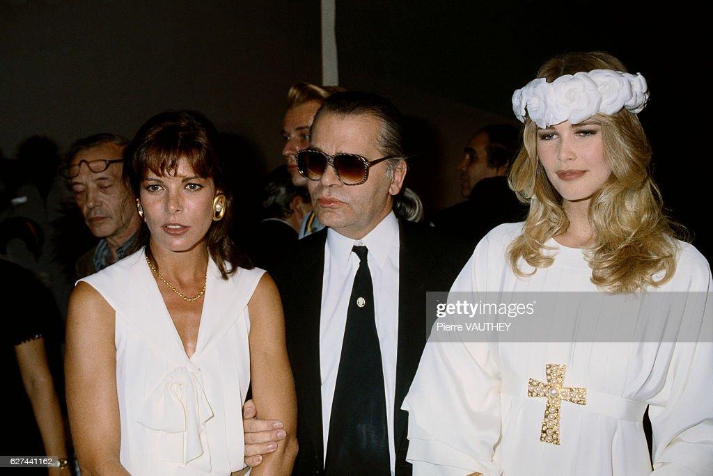 Chanel 1990-1991 Autumn-Winter Fashion Show : News Photo