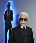 Designer karl lagerfeld poses as he attends his exhibition launch at picture id104088125?s=170x170