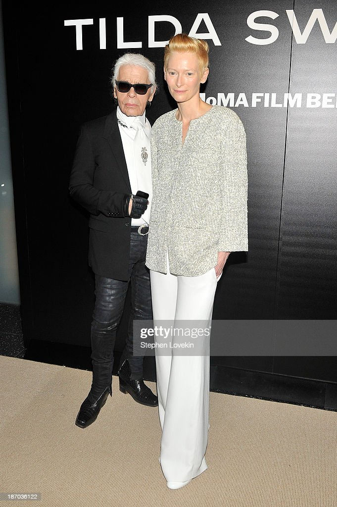 The Museum Of Modern Art Film Benefit: A Tribute To Tilda Swinton - Reception : News Photo