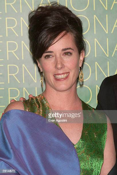 Designer Kate Spade at The Fashion Group International 'Night Of Stars 2001 Dynasty Generations of Design' awards gala at Cipriani 42nd St in New...