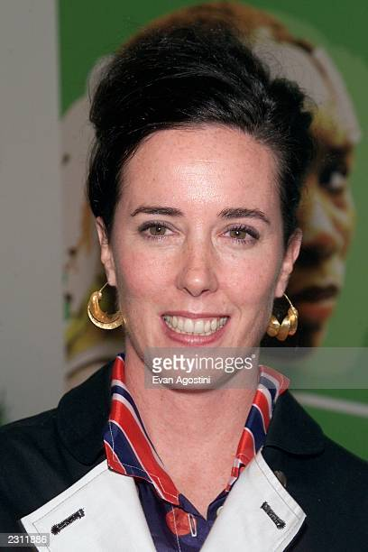 Designer Kate Spade at the USA Networks' party celebrating opening night of the 2001 US Open Tennis Tournament at Aces Restaurant at Arthur Ashe...