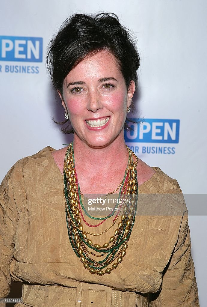 Designer Kate Spade attends OPEN from American Express' 'Making a Name for Yourself' at Nokia Theater July 27, 2006 in New York City.