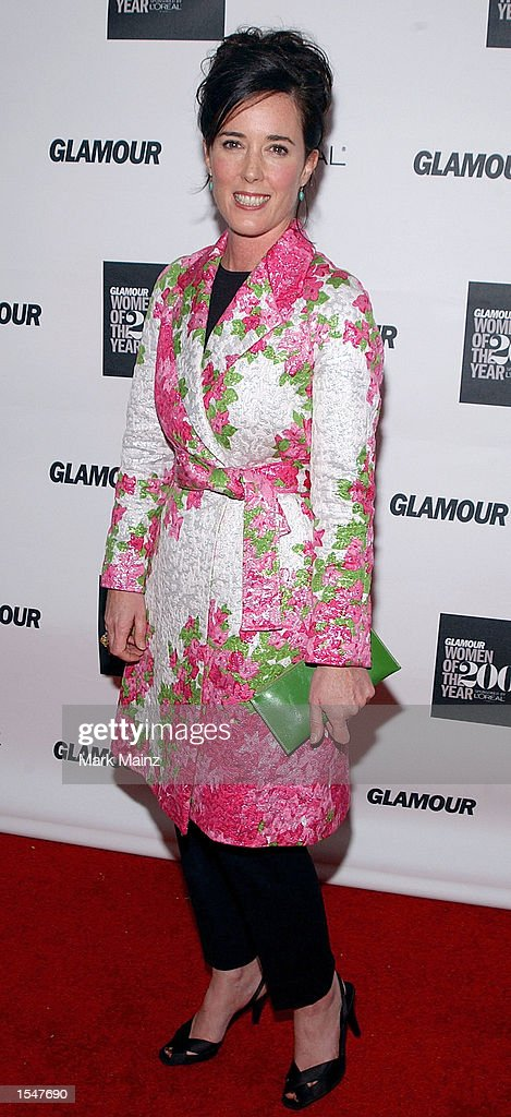 Kate Spade at 13th Annual Glamour Women of the Year Awards : News Photo